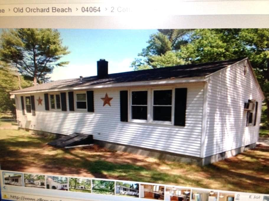 Cottage in old orchard beach - Old Orchard Beach - Huis