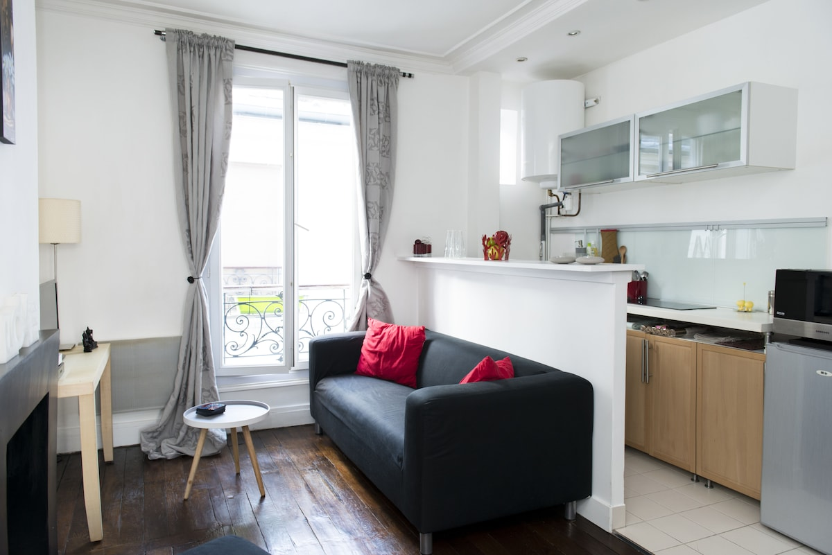 Nice 2 rooms 32 m2 near MontMartre