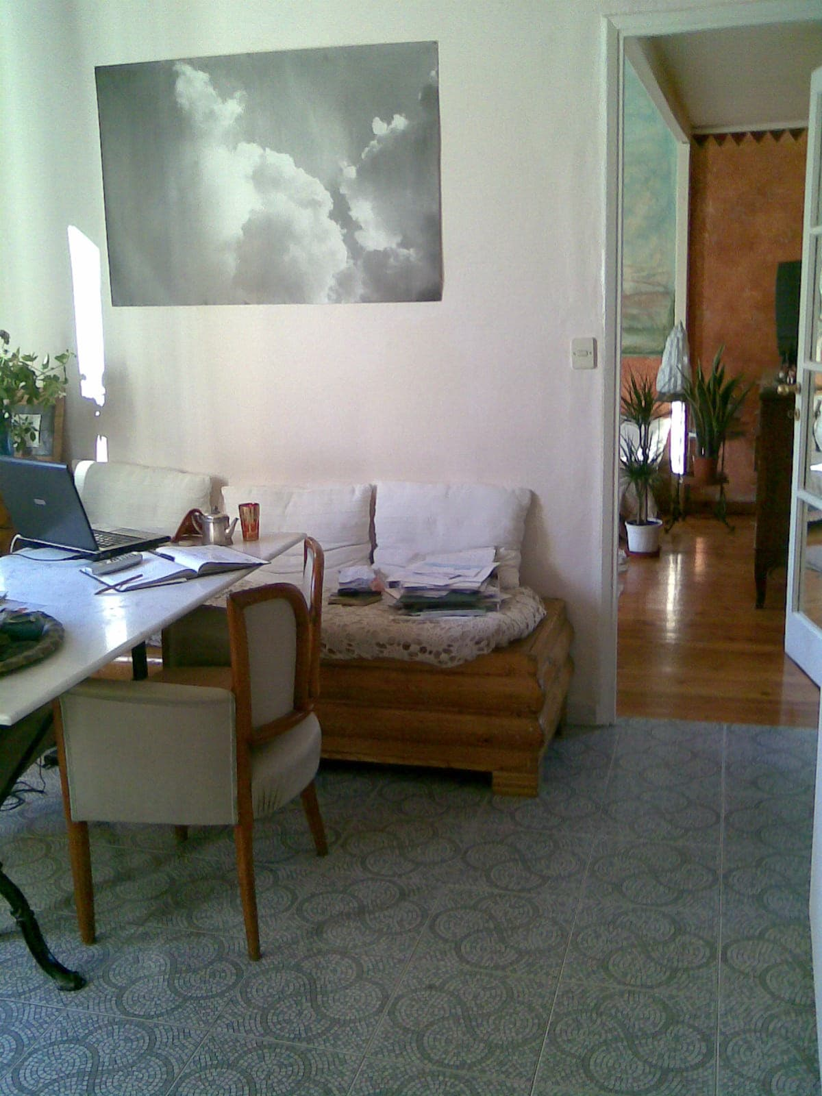 A view of the flat