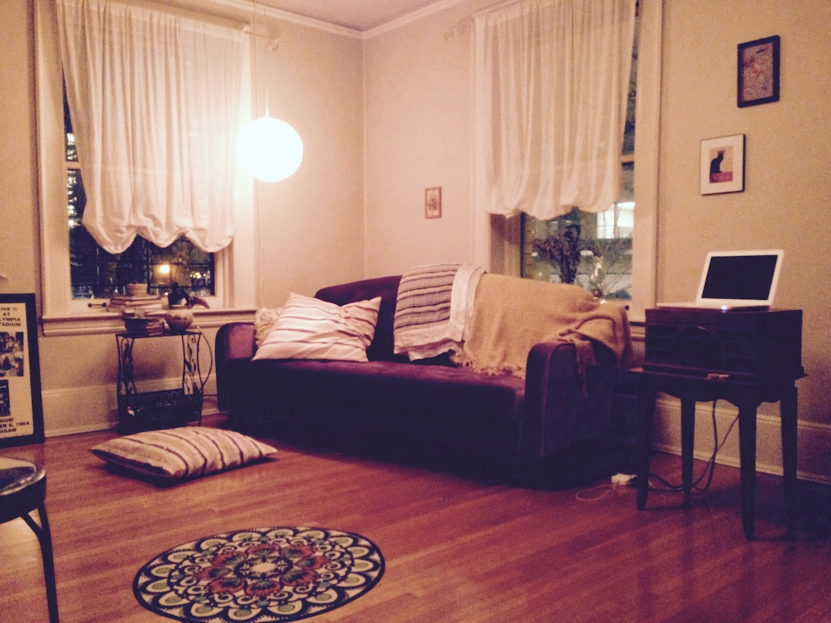 Charming 1BD in downtown Seattle