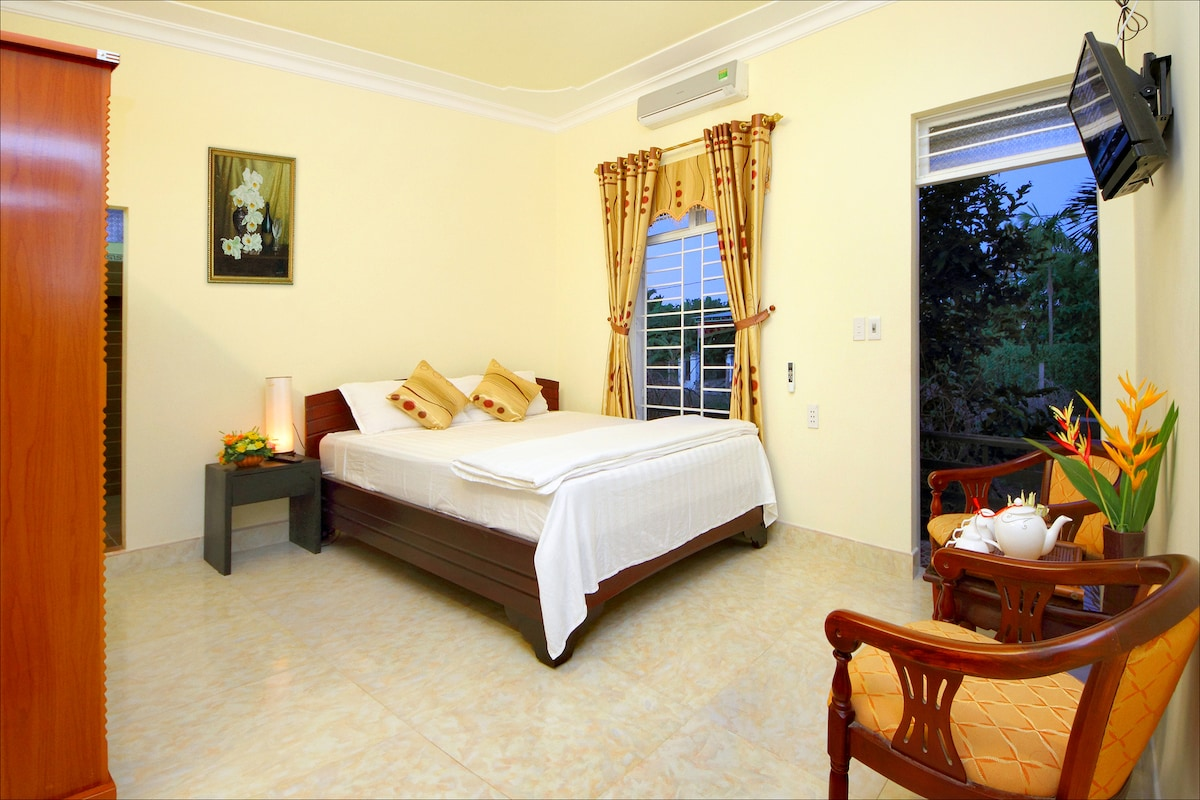 Double Room with Strawberry Garden