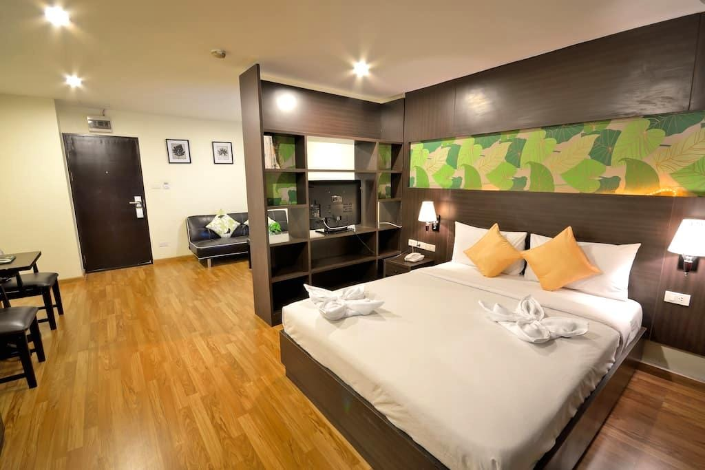 SERVICE APARTMENT 24hrs STUDIO - Bangkok - Pis