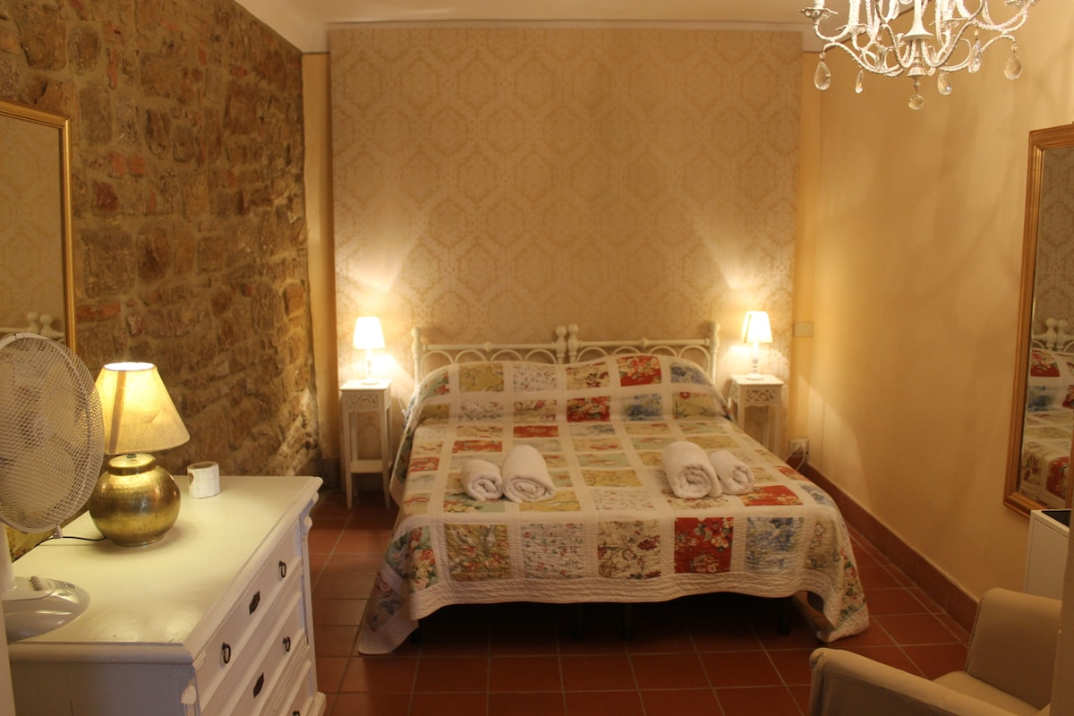 Bedroom 1 - one double bed or two singles