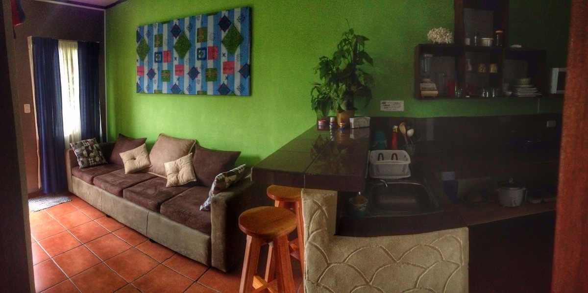Furnished Apartment with A/C #4