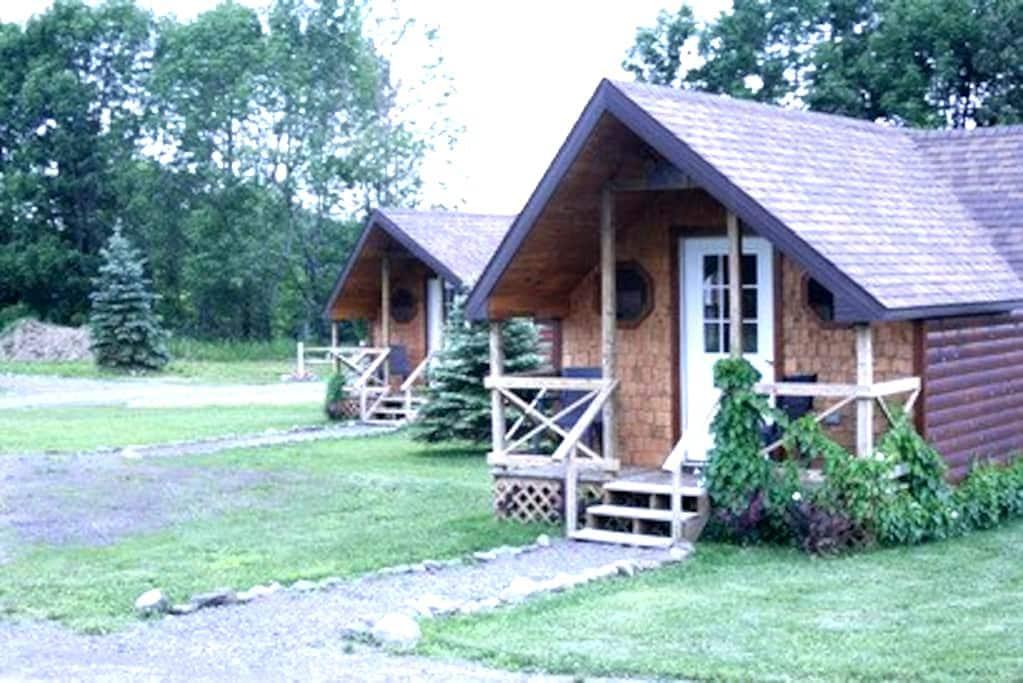 Hand Hewn Cedar Log Cabin - Edmeston - Cabaña