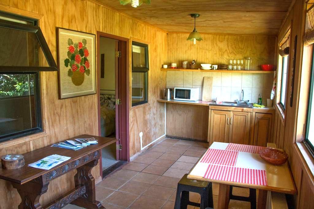 Habitación con baño privado a pasos del centro - Puerto Varas - Nature lodge
