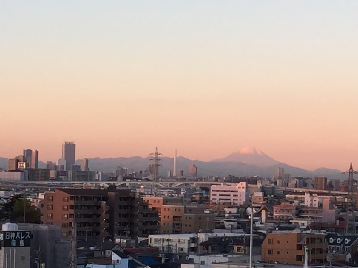 Mt.Fuji In the morning