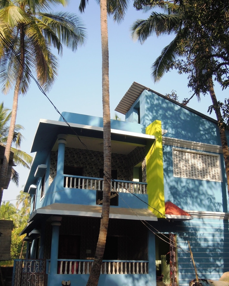 New house near Morjim Beach