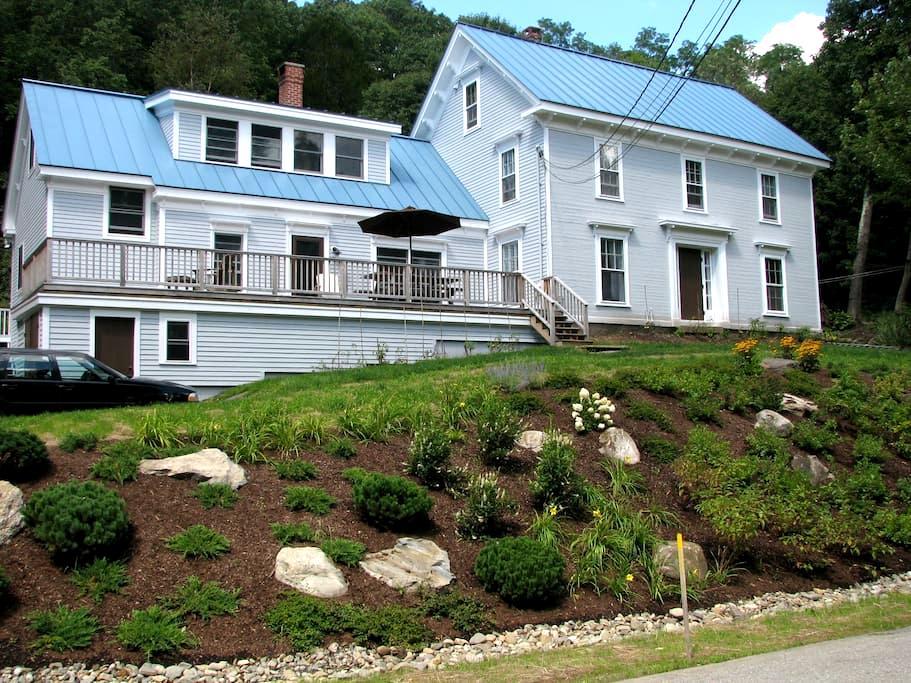 Farmhouse near town - Rockland - Huis
