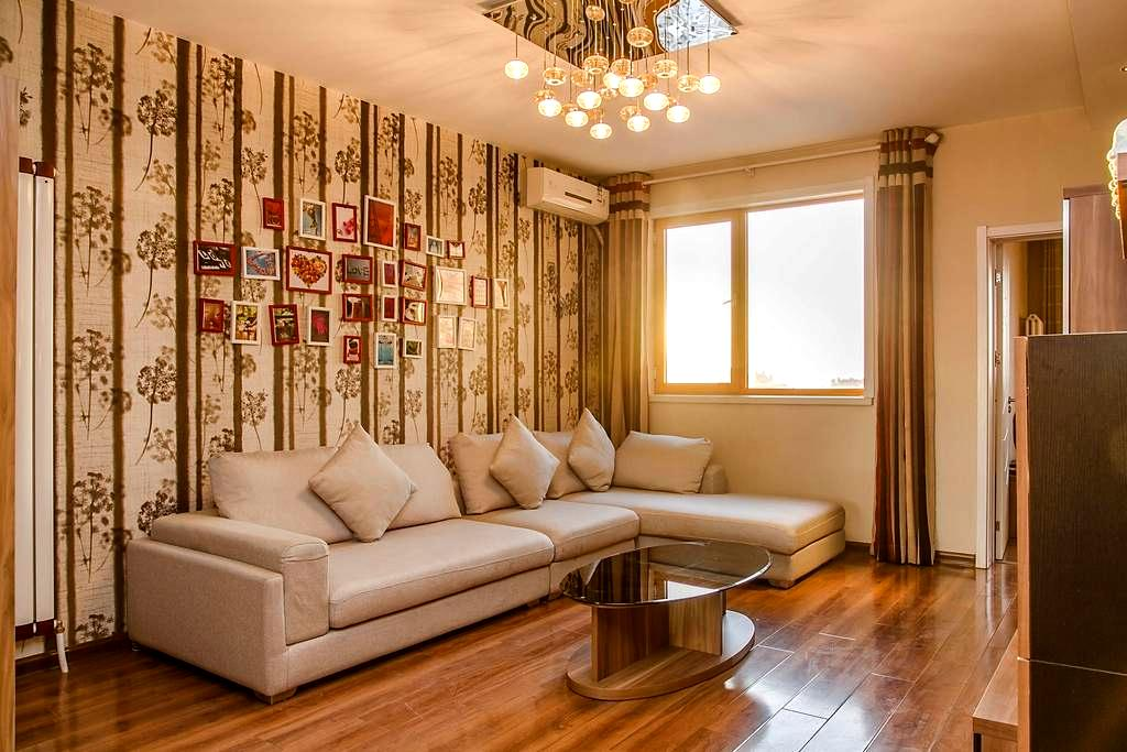 大雁塔旁曲江核心区域精装两室大床房家电齐全,免费接送机 - Xi'an - Apartment