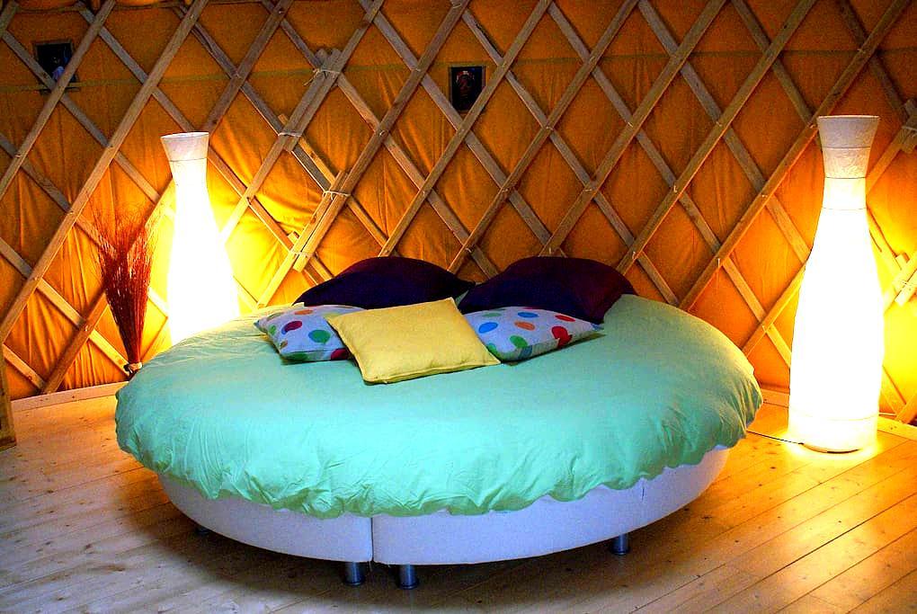 Chambre d'hôtes en yourte - Chançay - Yurt