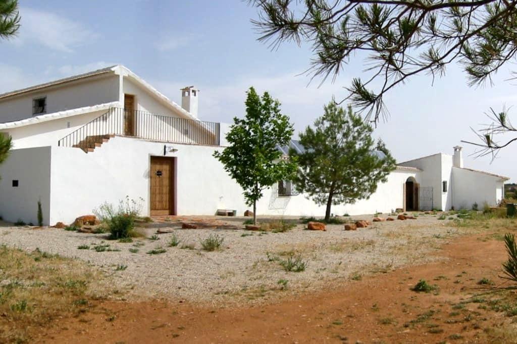 Casa rural LAGUNAS DE RUIDERA grande y confortable - Ossa de Montiel - Casa