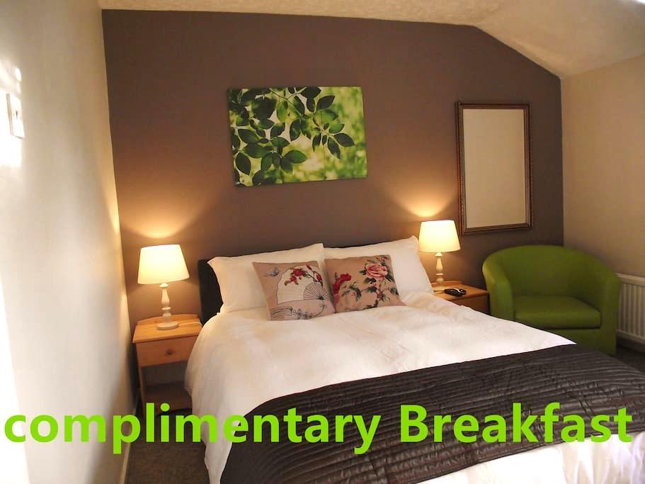 Room Central MK-Complementary Breakfast - Milton Keynes - Casa adossada