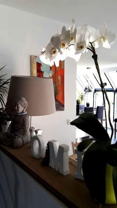 Wooden house Roissy and Paris - Aumont-en-Halatte - Bed & Breakfast