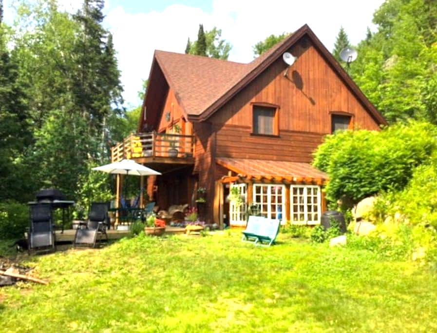 Superbe maison paisible - Lac-Supérieur - Casa