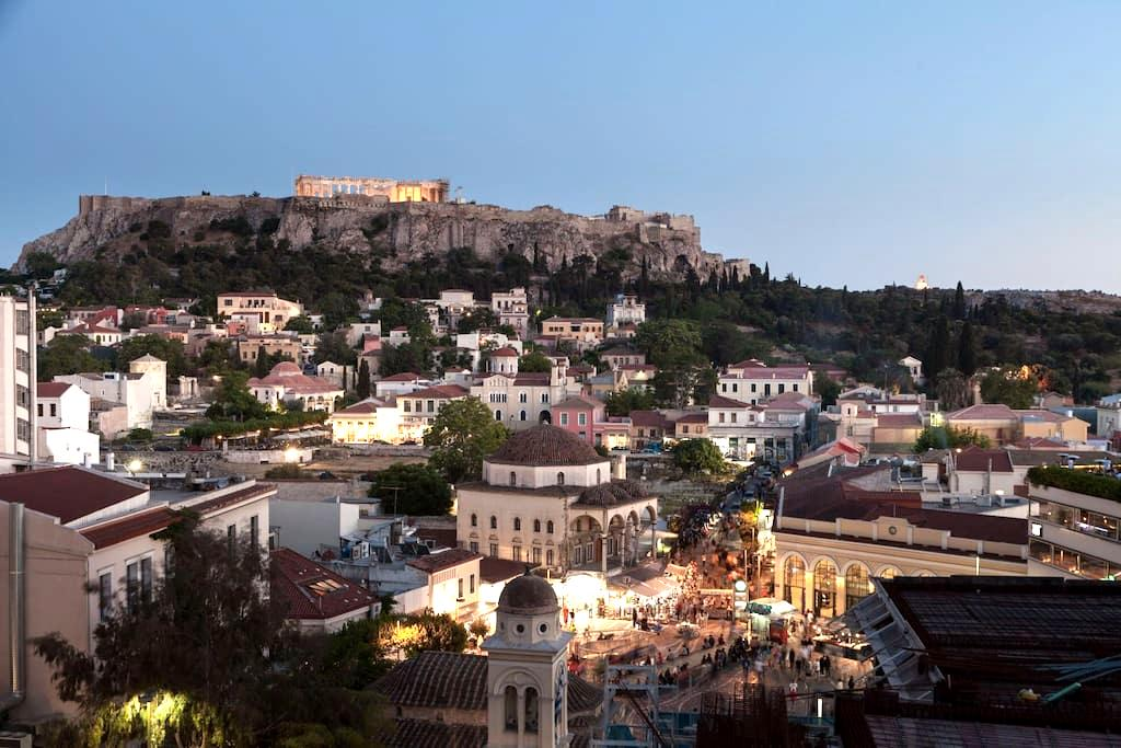 NEW 1-BED - ACROPOLIS VIEW PRIVATE TERRACE - Athina - Daire