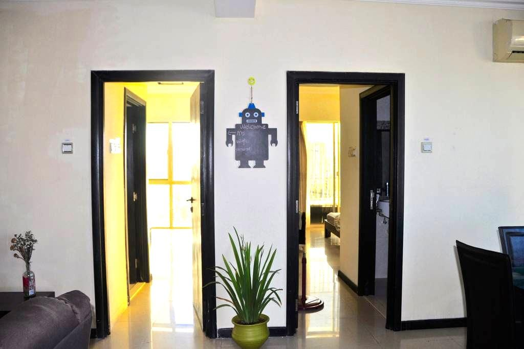 City and Sew View Two bedrooms Apartment - Dar es Salaam - Lejlighed