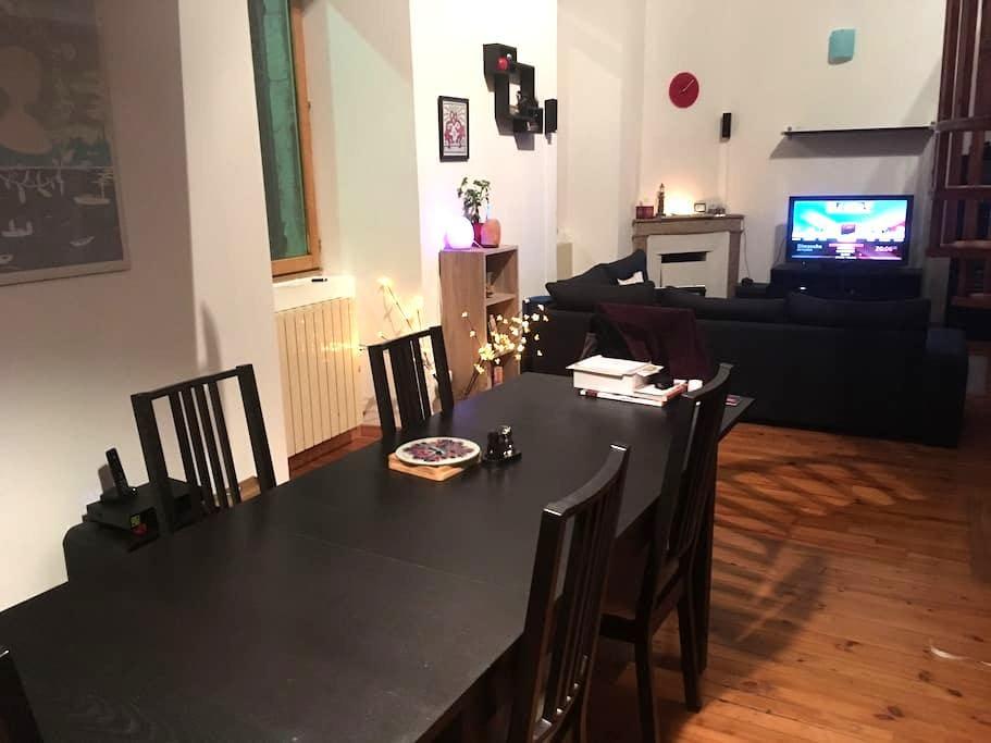 Chambre 2 personnes dans un appartement - La Voulte-sur-Rhône - Apartment