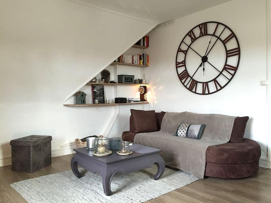 Appt 2 beds, 75m2, 25mn from Paris - Chantilly - Daire