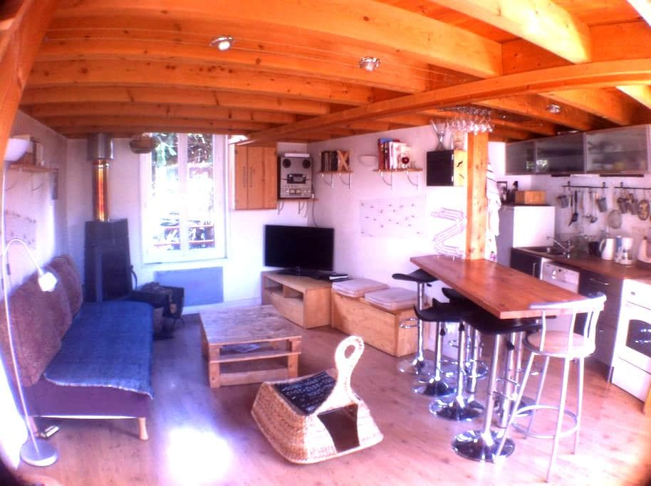 maison, mezzanine avec poêle à bois - Clermont-Ferrand - House