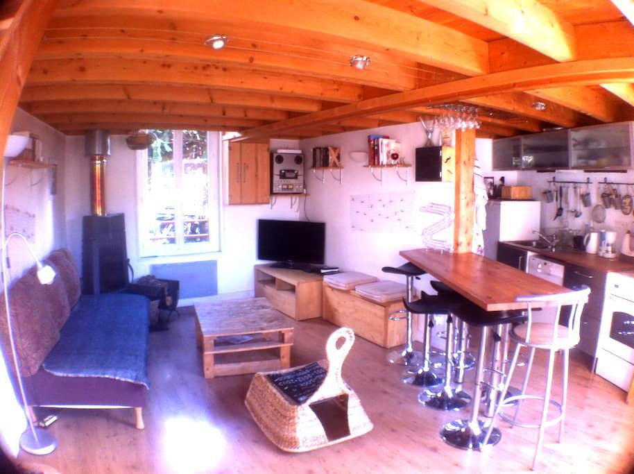maison, mezzanine avec poêle à bois - Clermont-Ferrand - 独立屋