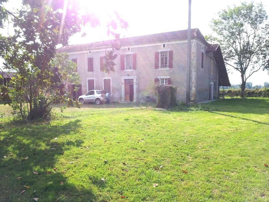 Maison de campagne  prés de  Marciac  à St Justin - Saint-Justin - Casa