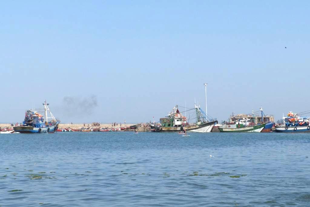 Riad complet avec superbe terrasse face à la mer - El Jadida - Huis