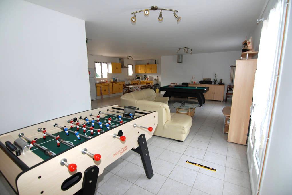 1 chambre meublée (4) - Neuvy-sur-Loire - บ้าน