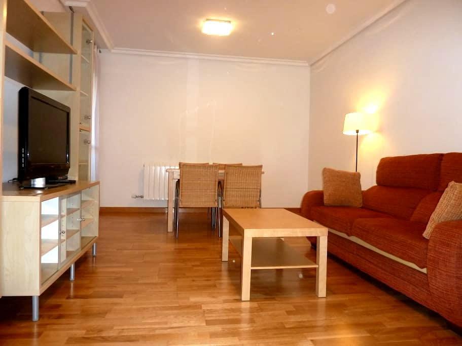 Apart. 2-4 personas, garaje y pisci - Logroño - 公寓