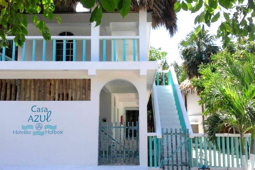 Casa Azul- Hotelito Holbox 1st room - Holbox - Appartement