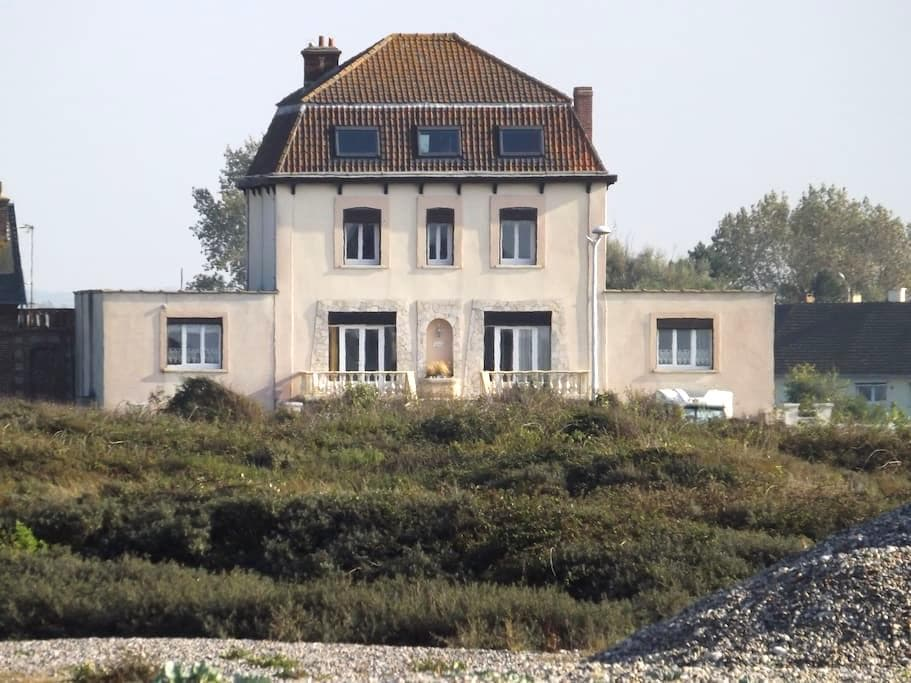 villa en bord de mer et vue sur mer - Cayeux-sur-Mer - Departamento