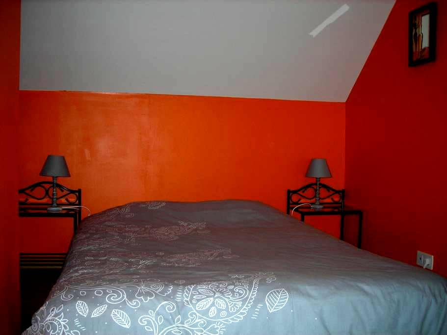 Chambre meublée chez l'habitant - Montmartin-sur-Mer - 단독주택