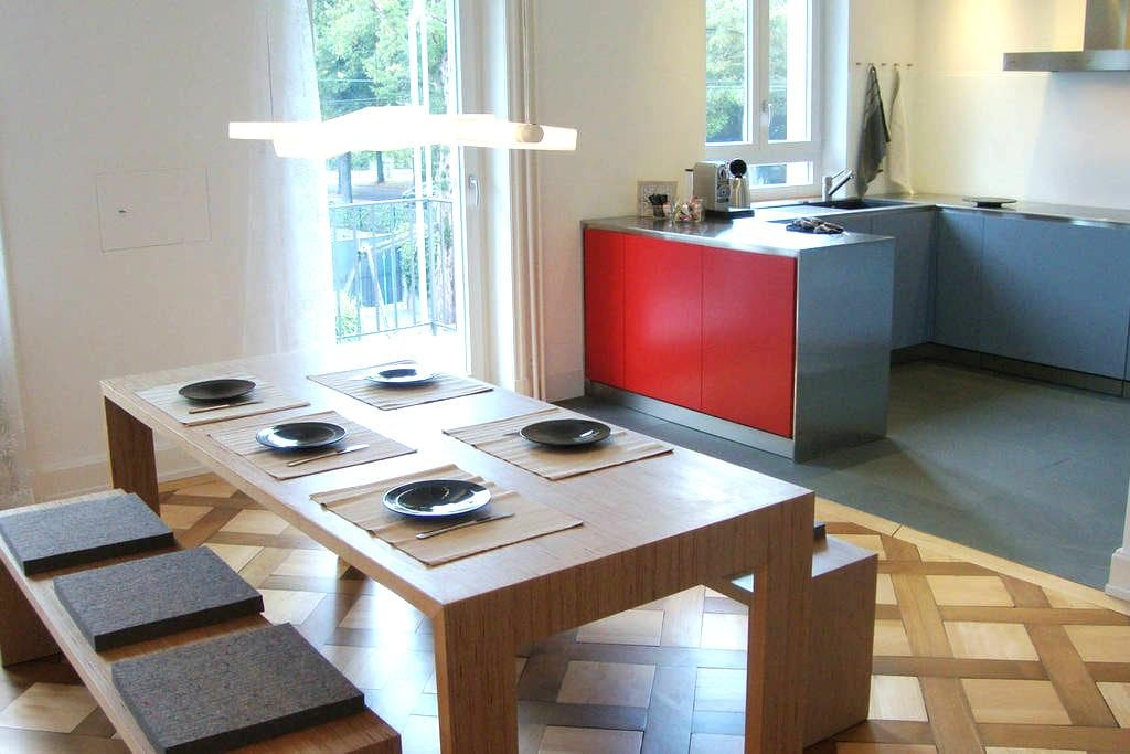 Fantastic accommodation, 4 bedrooms - Bazel - Appartement