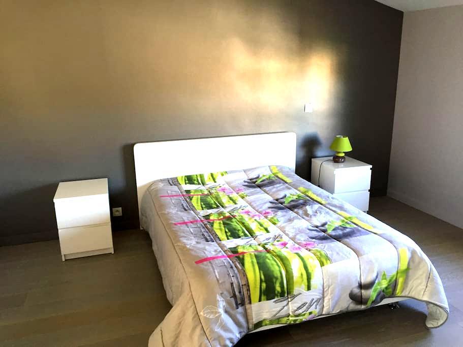 Grande chambre privée avec salle de bains et WC - Labarthe-sur-Lèze - House