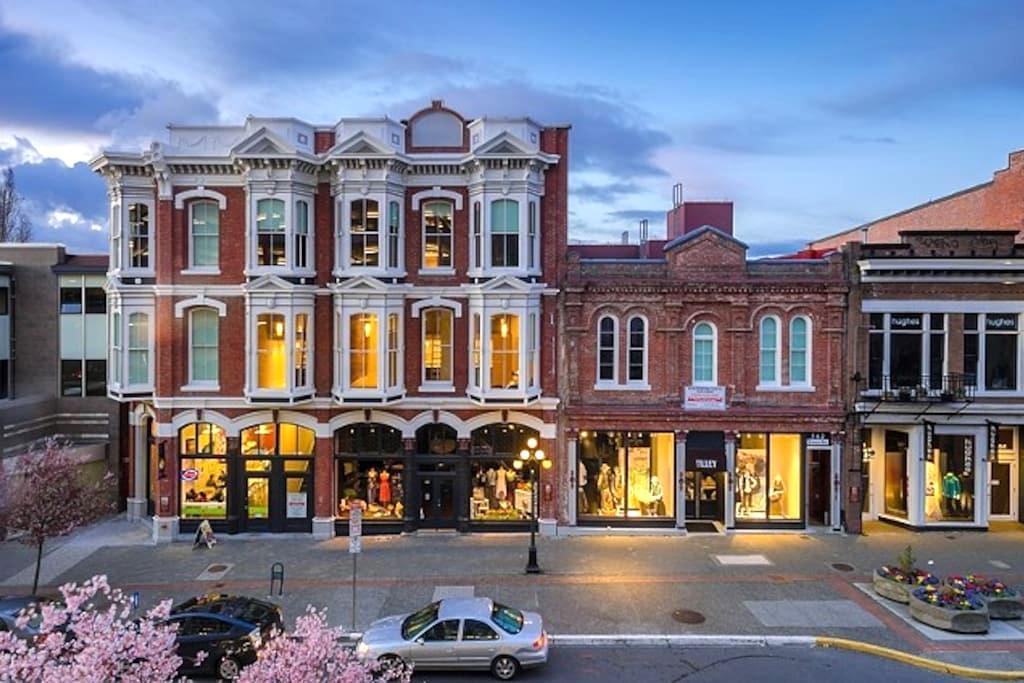 Best Location in Downtown Victoria! - Victoria - Loft