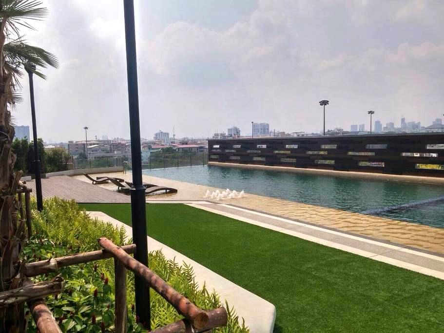 Nice view and in middle of Bkk. - Bangkok - Leilighet