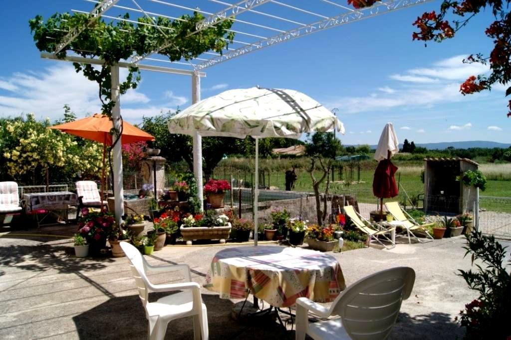 Gîte de Vacances en Provence - Modène - Huis