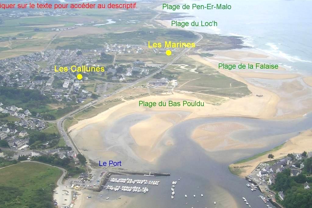 DUPLEX T3 face à la mer  - Guidel - Квартира