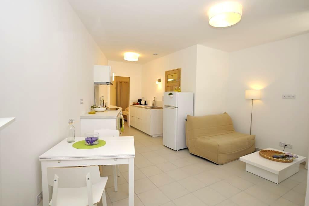 Appartement T2 équipé Sud Alpilles - Eyguières - Apartamento