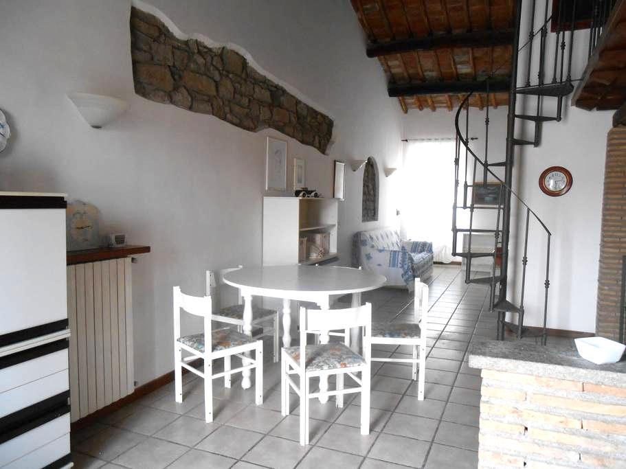 Loft con terrazzo centro storico - Viterbo - Appartement