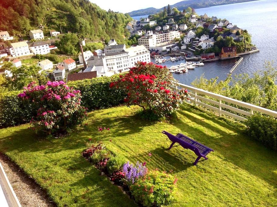 Salhus - outstanding panoramic view - Bergen