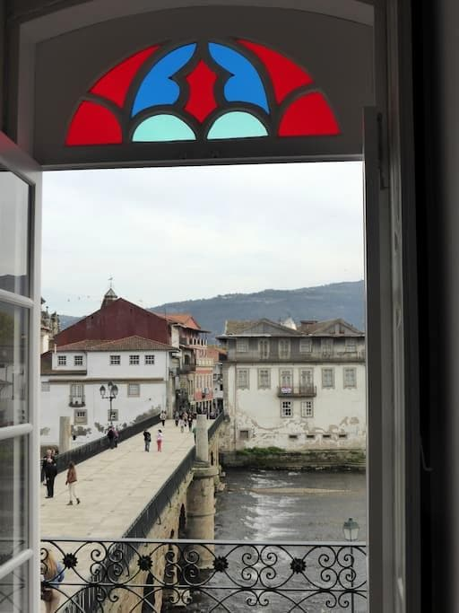 Quarto Cambedo -Casa da Ponte(twin) - Chaves - Flat