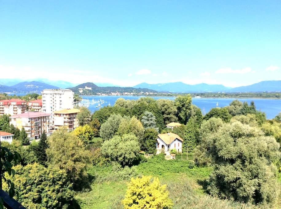 Trilocale sul Lago Maggiore - Dormelletto - Apartemen