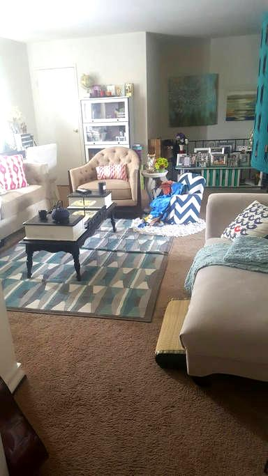 Cozy 1Bedroom with Patio Retreat! - Bensalem - Byt