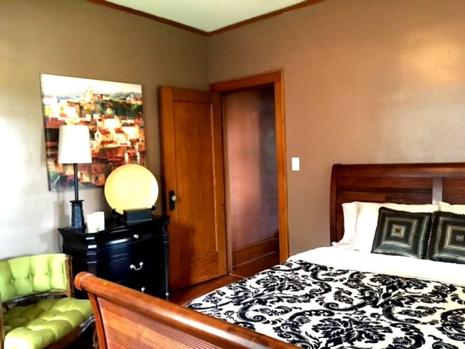 Welcoming Private Rm/Bath Near Downtown & Airport - Omaha - Maison