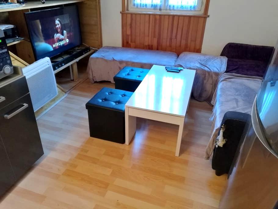 Cozy - Salins-les-Bains - Apartemen