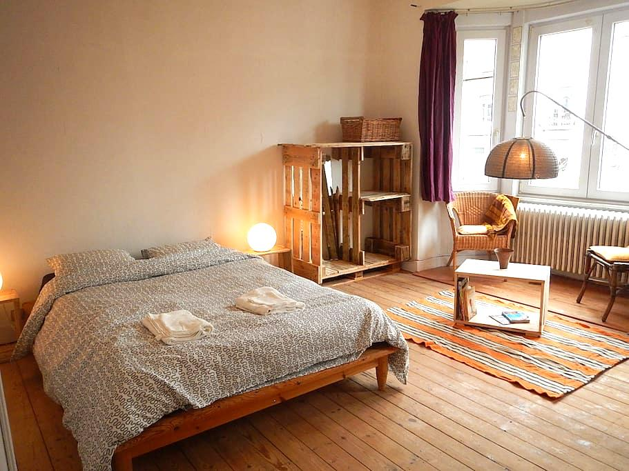 Big room in a house with garden - Watermael-Boitsfort - Hus