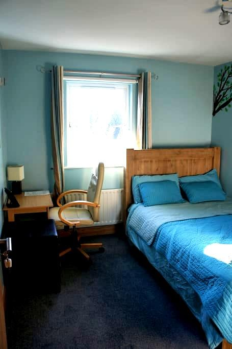 2 double rooms (B&B) for 4 in Dublin West - Ongar, Dubin - Bed & Breakfast