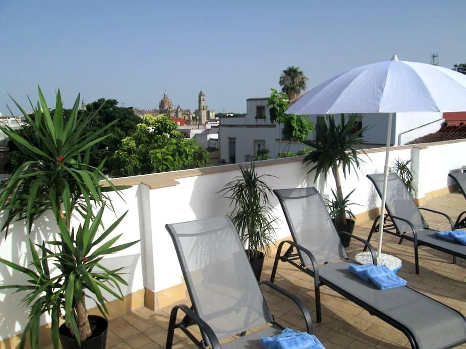 Charming private 2 person app. & stunning views - Jerez de la Frontera