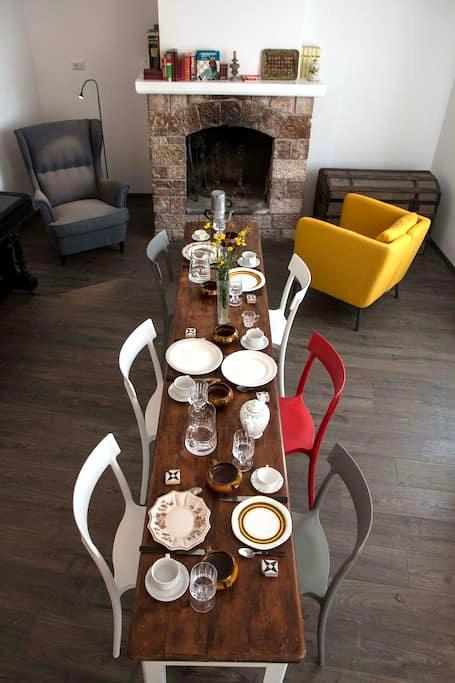 Residenza la Corte Assisi - b&b Stanza Rossa - Assisi - Bed & Breakfast